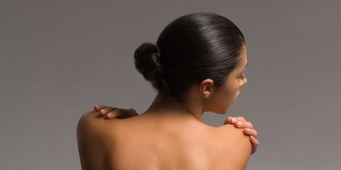 Back, Shoulder, Skin, Arm, Joint, Neck, Muscle, Barechested, Chest, Human body,