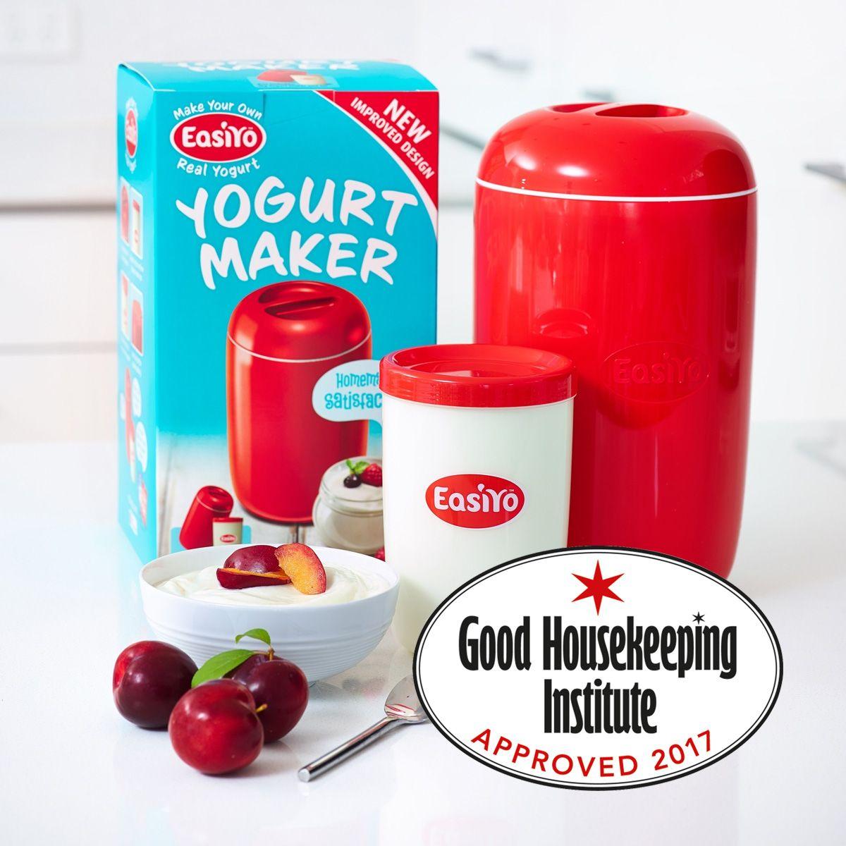 EasiYo Yoghurt Maker 1kg Red