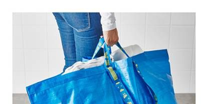 f3be7c29a28e Balenciaga IKEA bag - Similarities between designer tote and 99p ...