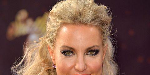 Hair, Face, Hairstyle, Blond, Eyebrow, Lip, Chin, Beauty, Forehead, Long hair,