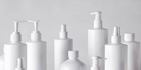 Plastic bottle, Product, Bottle, Soap dispenser, Cylinder, Wash bottle, Bathroom accessory, Plastic, Skin care,