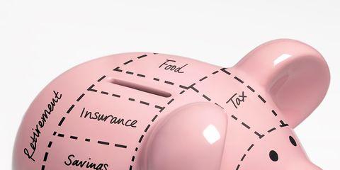 Saving, Skin, Pink, Piggy bank, Snout, Suidae, Peach,