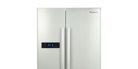 355f3c2e7fc Overall Score  61 100. Tested April 2017. The Lec AFF90185 is a  freestanding side-by-side frost-free fridge freezer with ...