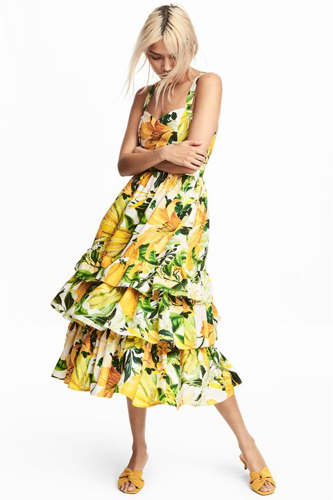 4678a8569547 Good Housekeeping's Fashion Director Wendy Rigg says: 'Yellow is a key  colour and what better way to get involved with the trend than this pretty  dress?