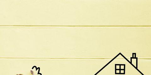 Line, Yellow, Cartoon, Wall, Illustration, Interaction, Design, Art, Font, Parallel,