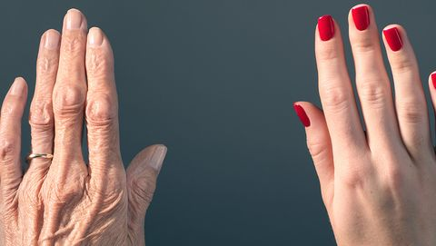 Anti-ageing tips for hands