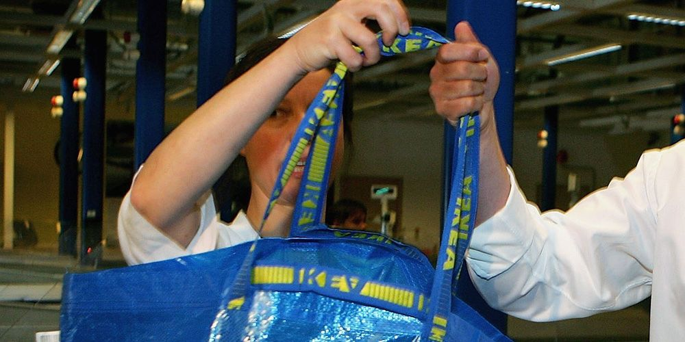 3c2d8479345 IKEA s iconic blue Frakta bag is getting a makeover by a fashion designer