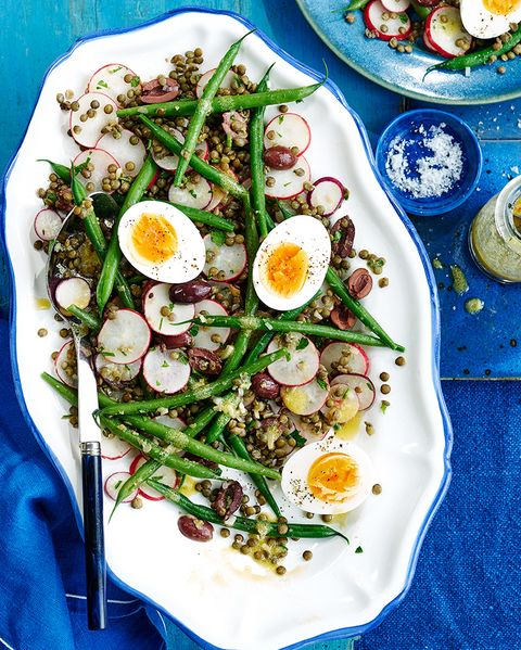 best vegetarian recipes lentil niçoise