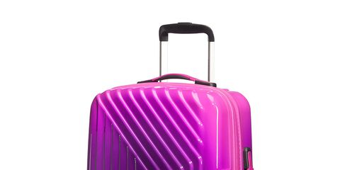 Suitcase, Hand luggage, Violet, Purple, Magenta, Baggage, Pink, Bag, Luggage and bags, Rolling,