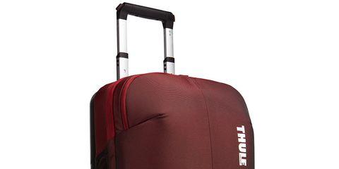 Product, Brown, Red, Orange, Maroon, Luggage and bags, Magenta, Baggage, Grey, Bag,