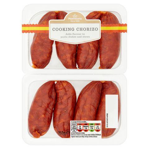 Food, Line, Meat, Sausage, Animal product, Orange, Peach, Cervelat, Longaniza, Knackwurst,