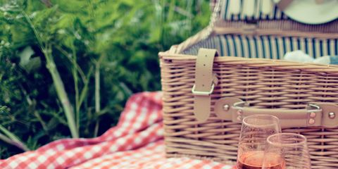 Food, Tablecloth, Picnic, Superfood, Table, Recreation, Picnic basket, Linens, Dish, Fruit,