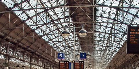 Transport, Train station, Vehicle, Building, Mode of transport, Passenger, Iron, Architecture, Metropolitan area, Train,