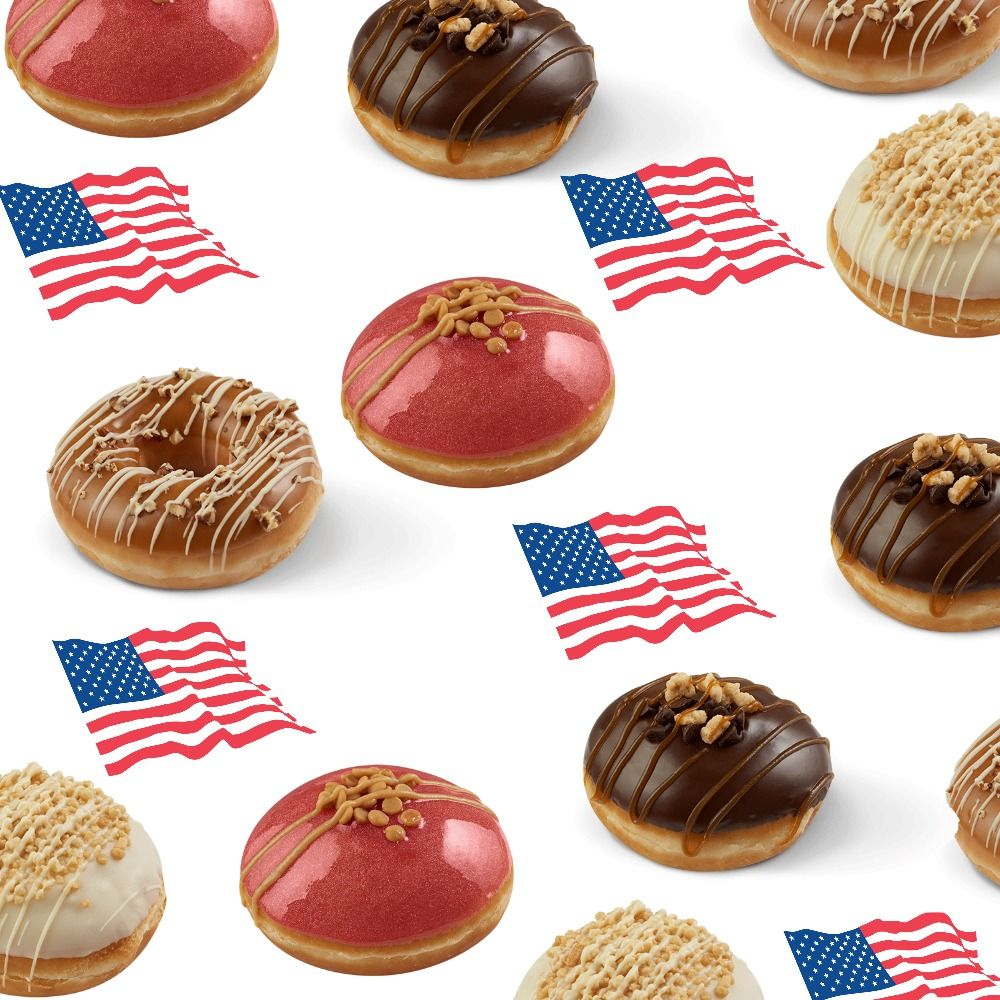 Krispy Kreme has launched a range of American Dessert flavoured ...