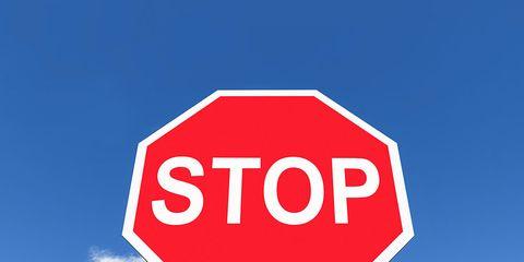 Signage, Sign, Stop sign, Traffic sign, Sky, Street sign, Road,