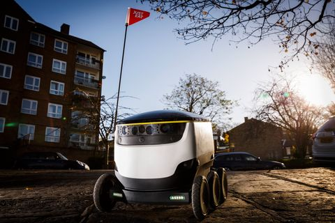 Robots Could Soon Replace Delivery Drivers Just Eat Robot