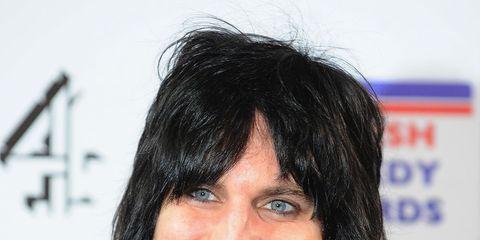 Hair, Hairstyle, Chin, Black hair, Smile,