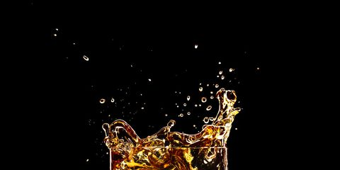 Drink, Glass, Highball glass, Alcohol, Alcoholic beverage, Old fashioned glass, Distilled beverage, Liquid, Liqueur, Scotch whisky,
