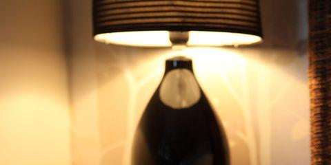 Lampshade, Lighting accessory, Lamp, Light fixture, Lighting, Room, Light, Interior design, Table, Furniture,