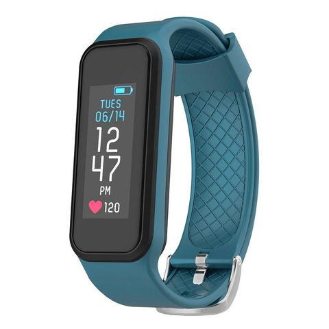 Watch, Gadget, Turquoise, Heart rate monitor, Mobile phone, Technology, Fashion accessory, Material property, Electronic device, Portable communications device,
