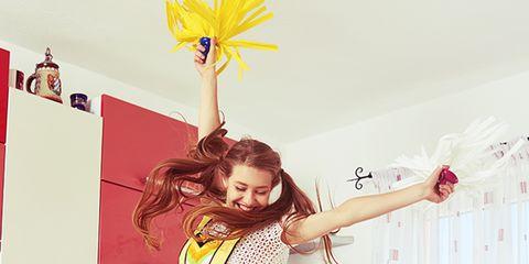 Yellow, Red, Beauty, Leg, Room, Fashion, Thigh, Photography, Waist, Uniform,