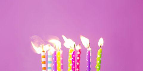 Cake, Birthday cake, Birthday candle, Birthday, Cake decorating supply, Pink, Buttercream, Cake decorating, Pasteles, Icing,