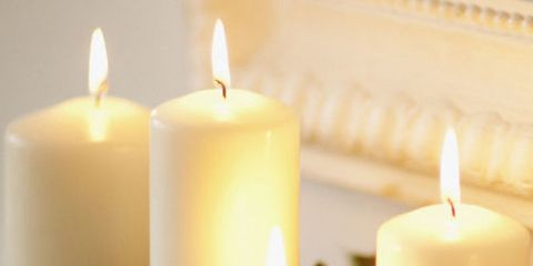 Candle, Lighting, Wax, Flameless candle, Unity candle, Interior design, Candle holder, Flame,