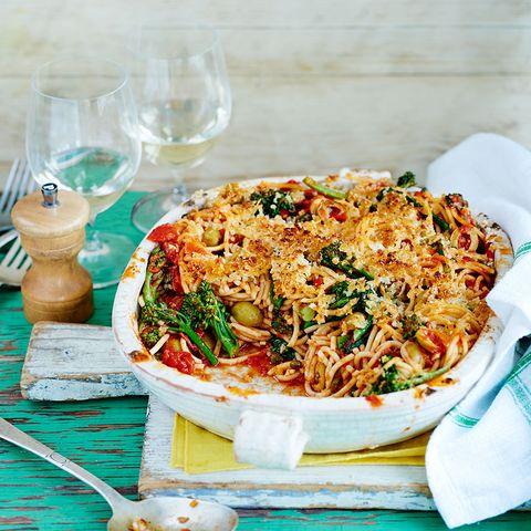 Spaghetti Puttanesca Grill