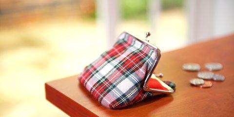 Tartan, Plaid, Pattern, Coin purse, Wallet, Fashion accessory, Design, Textile,