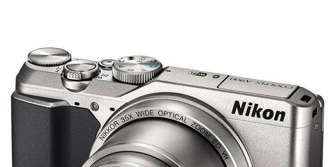 Digital camera, Camera, Camera lens, Cameras & optics, Camera accessory, Lens, Point-and-shoot camera, Mirrorless interchangeable-lens camera, Photograph, Product,