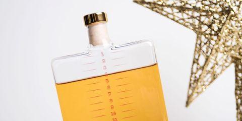 Liqueur, Bottle, Drink, Distilled beverage, Glass bottle,