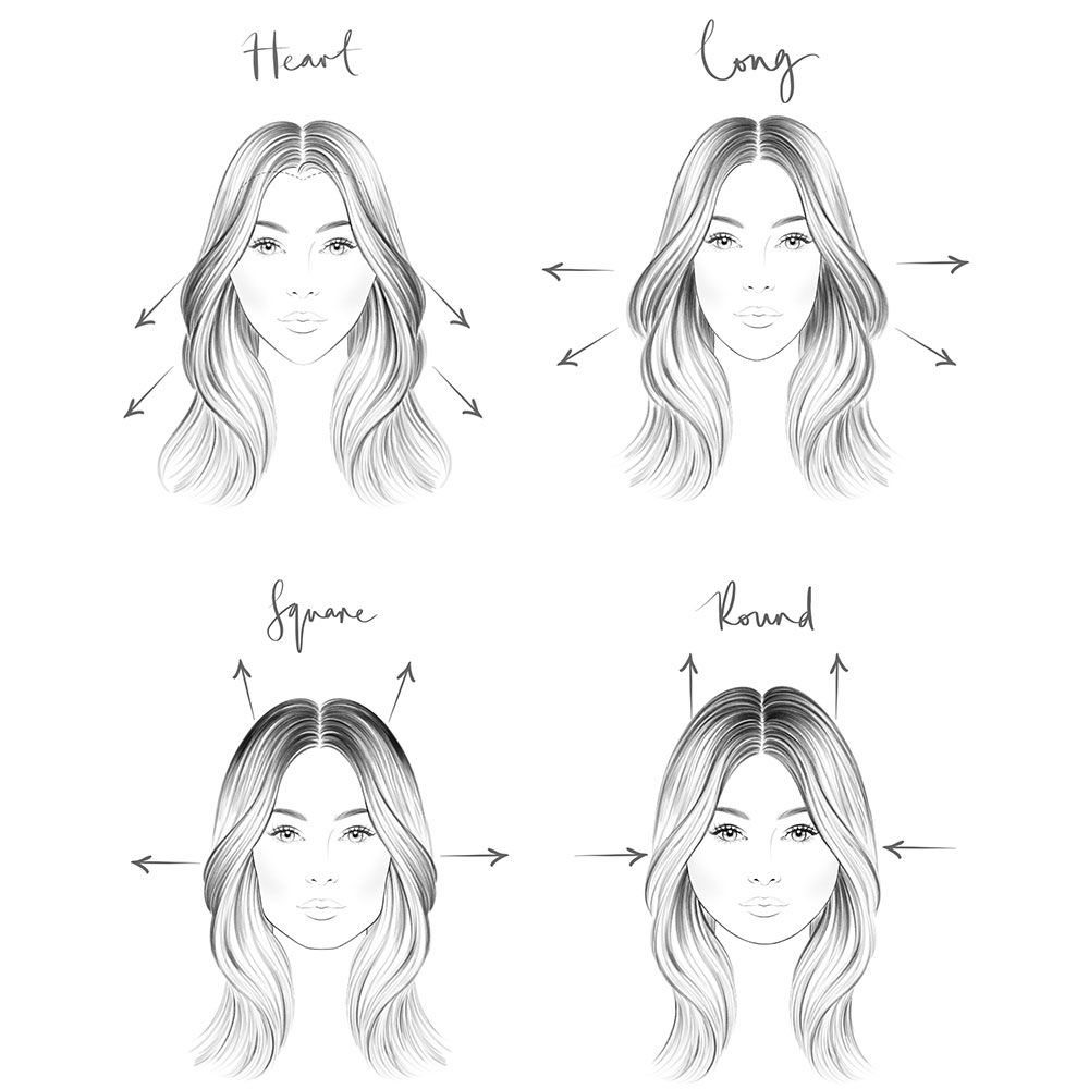 919cd88dc7 How to change your face shape using your hair