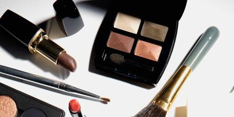Eye shadow, Cosmetics, Brush, Eye, Beauty, Product, Eye liner, Brown, Makeup brushes, Makeup artist,