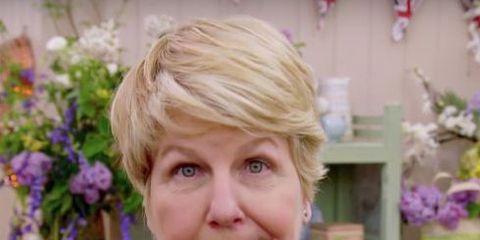 Hair, Blond, Floristry, Floral design, Flower, Plant, Flower Arranging, Smile,