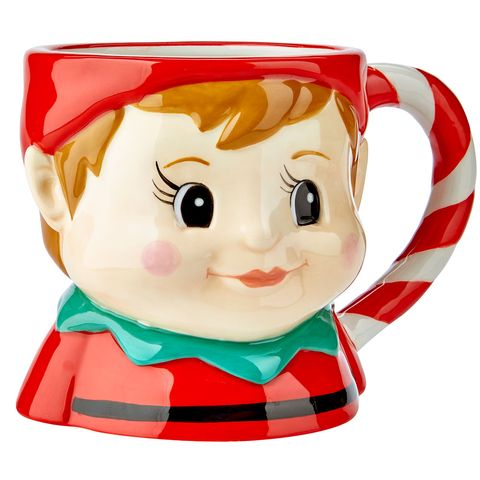 Asda Christmas Advert 2017 Elf Mug