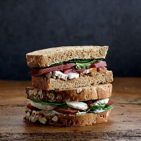 Food, Dish, Cuisine, Ingredient, Vegan nutrition, Sandwich, Finger food, Produce, Baked goods, Whole grain,