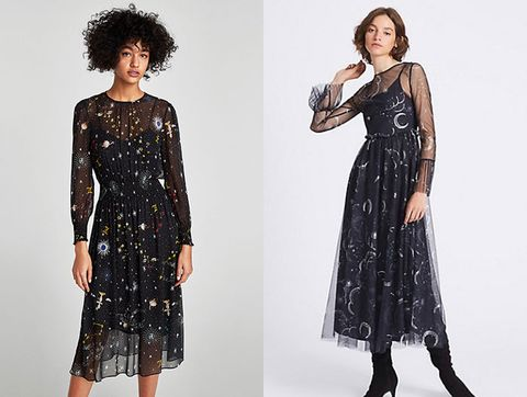 Zara Has Released Its Own Version Of The Constellation Dress