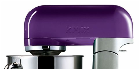Product, Small appliance, Kitchen appliance, Purple, Home appliance, Kitchen appliance accessory, Silver, Coffee grinder, Plastic, Aluminium,