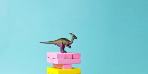 Toy, Toy block, Educational toy, Animal figure, Bird toy, Wooden block, Dinosaur,