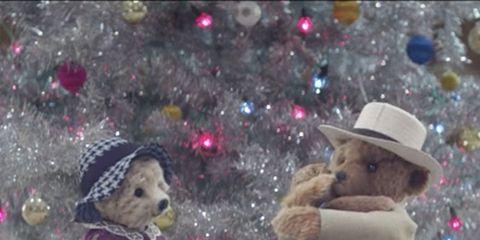 Snow, Winter, Teddy bear, Fun, Toy,