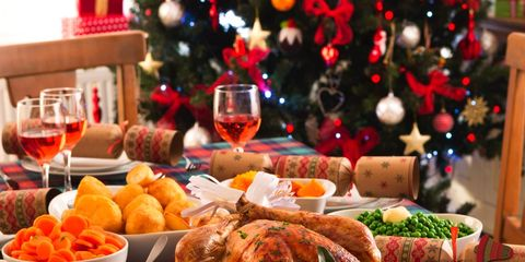 Christmas Dinner Pictures.Good Housekeeping Christmas Budget Basket 2017 Cheapest