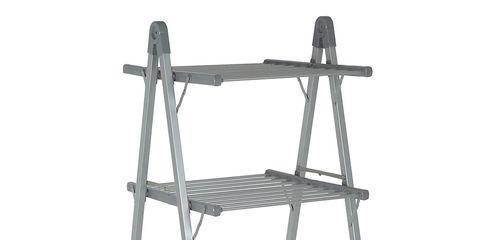 Shelf, Shelving, Furniture, Ladder, Shoe organizer, Steel, Metal,