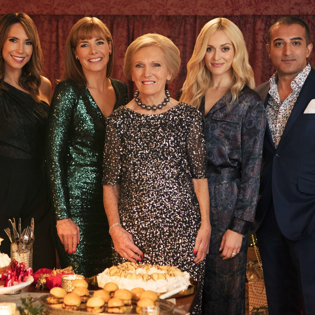 Mary Berry fashion - Mary Berry wears gorgeous sparkly dress in last night's Mary Berry's Christmas Party