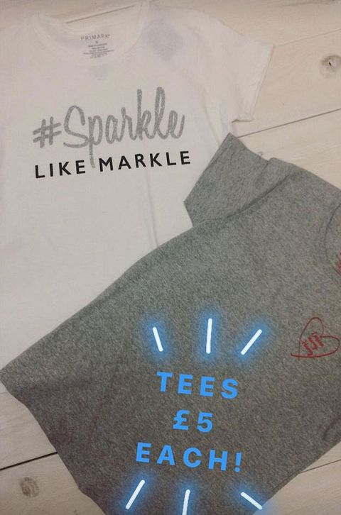 3d6f4c0948 Primark is now selling Sparkle Like Markle t-shirts