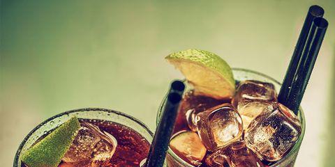 Drink, Cuba libre, Liqueur, Food, Pimm's, Distilled beverage, Alcoholic beverage, Long island iced tea, Dark 'n' stormy, Black russian,
