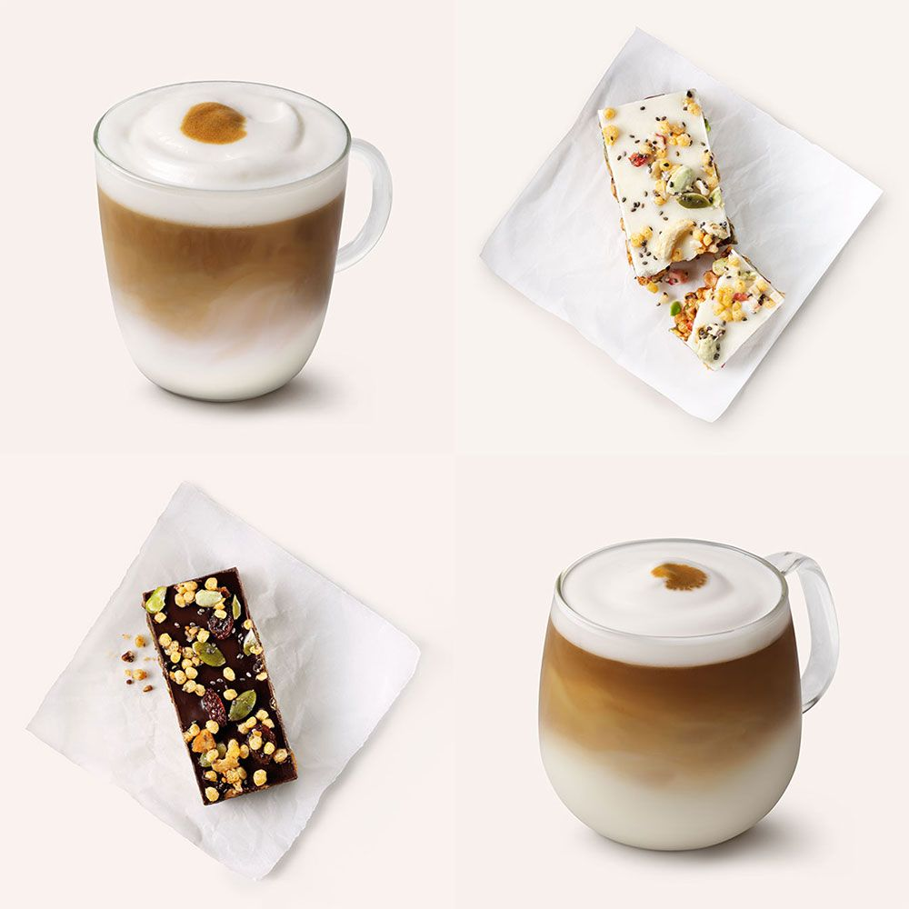 Starbucks reveals its new year food and drink menu for 2018 - and ...