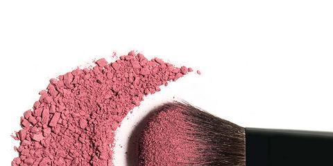 Cosmetics, Pink, Violet, Beauty, Eye shadow, Brush, Powder, Material property, Face powder, Powder,