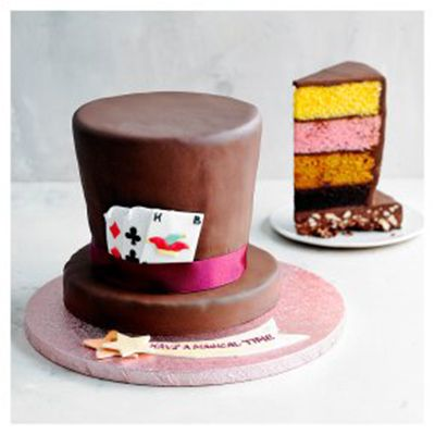 Heston Blumenthals Top Hat Cake For Waitrose
