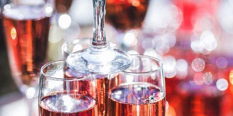 Drink, Wine glass, Stemware, Alcoholic beverage, Drinkware, Liqueur, Glass, Champagne stemware, Wine, Alcohol,