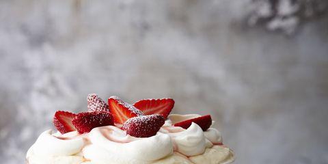 Dish, Food, Cuisine, Dessert, Trifle, Cranachan, Whipped cream, Cream, Ingredient, Frozen dessert,